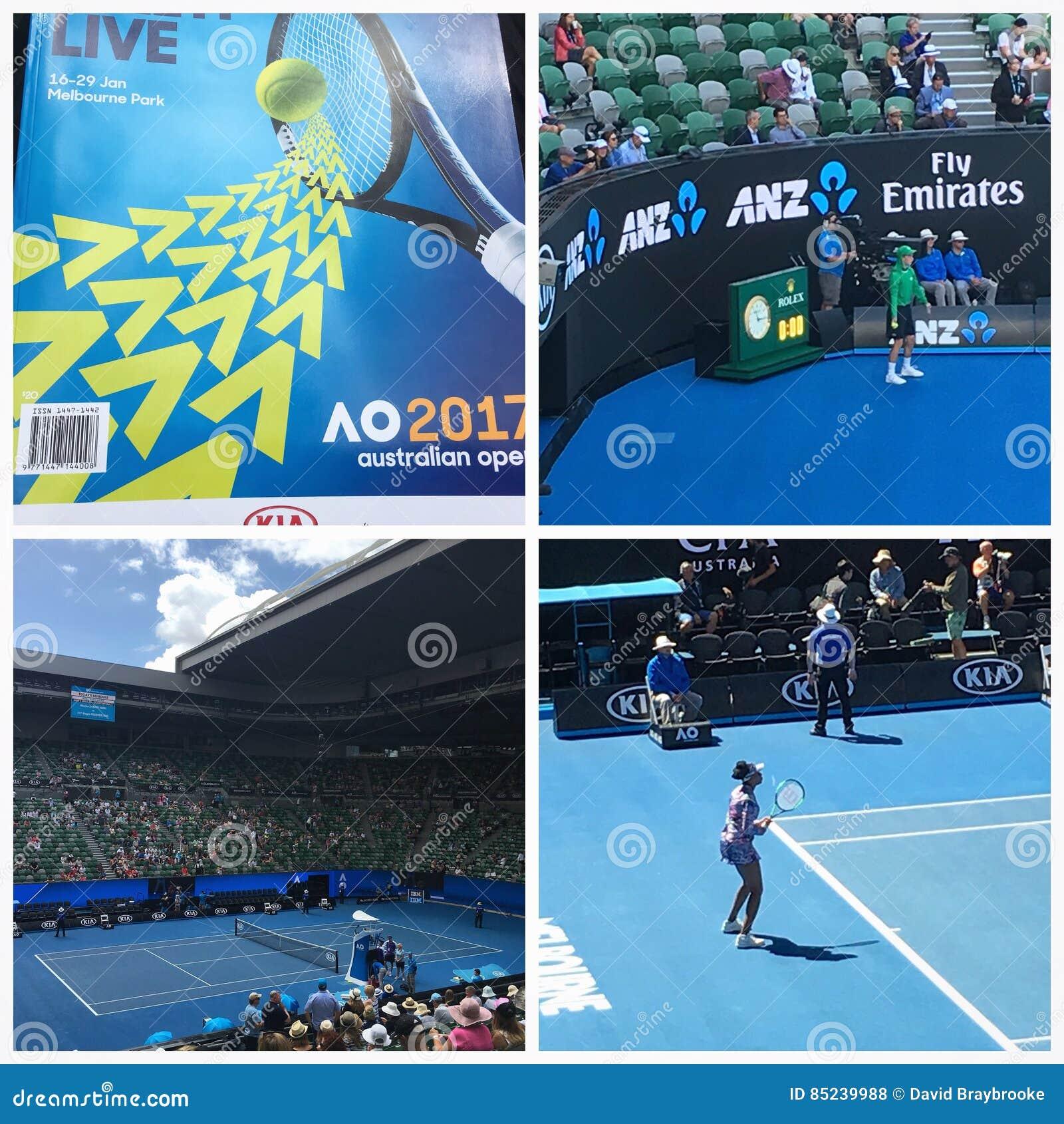 Tennis 2017 d open d Australie