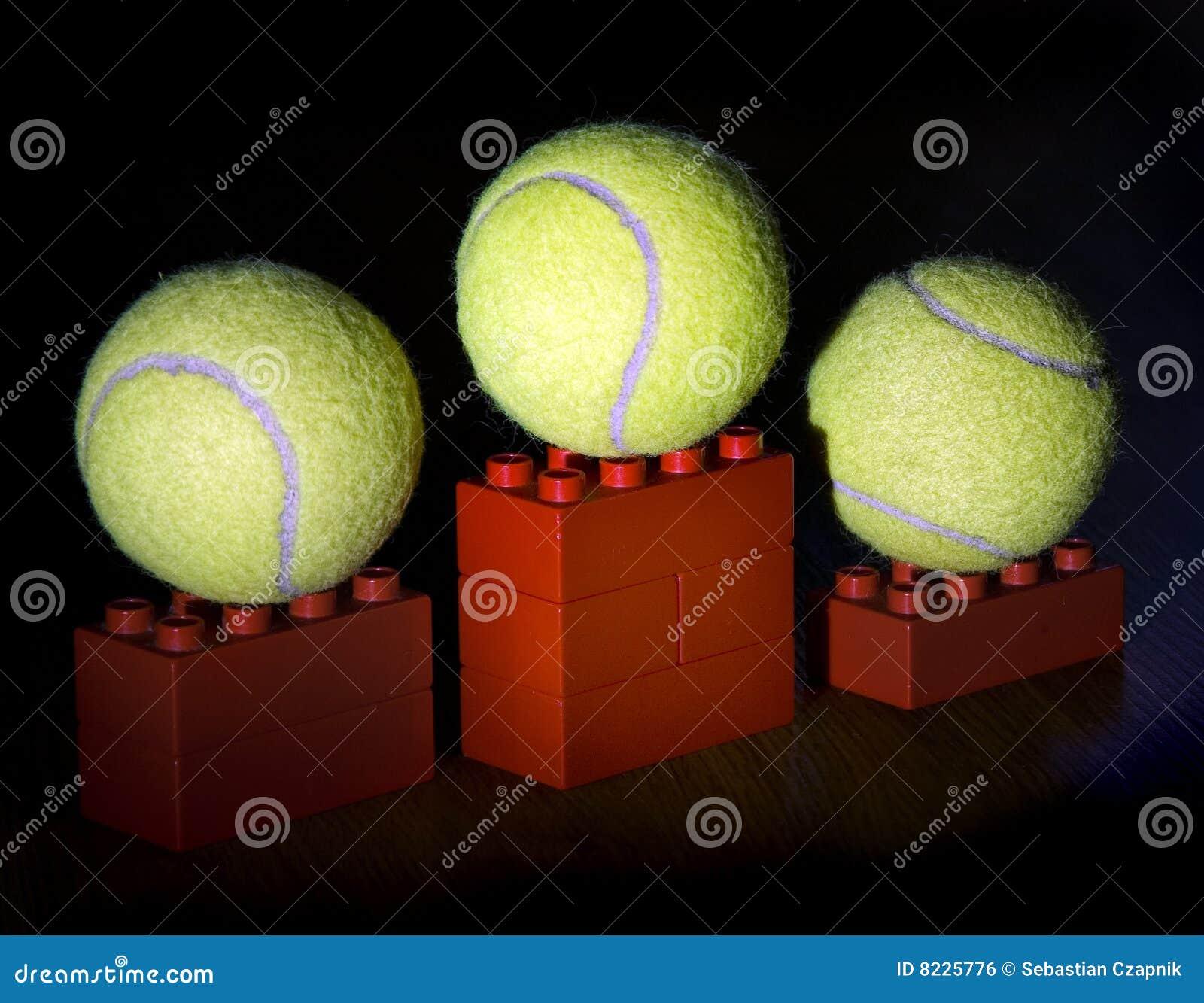 Tennis de podiume de billes