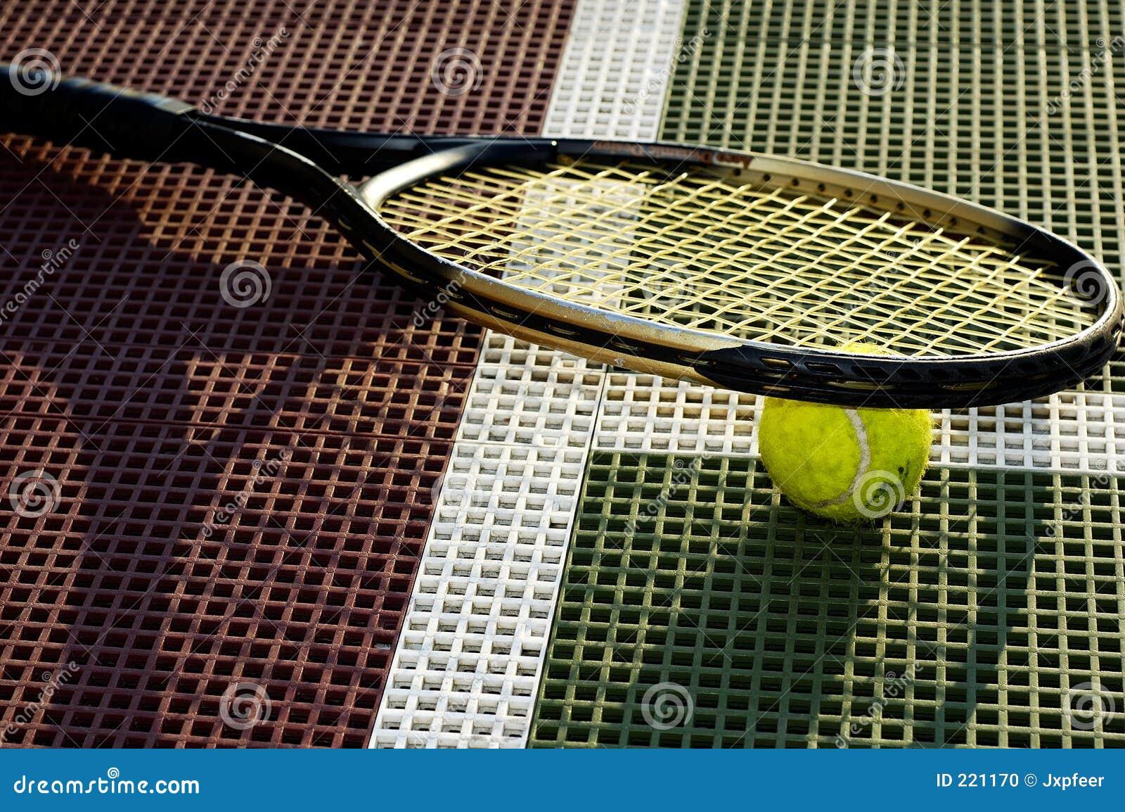 Tennis del primo piano