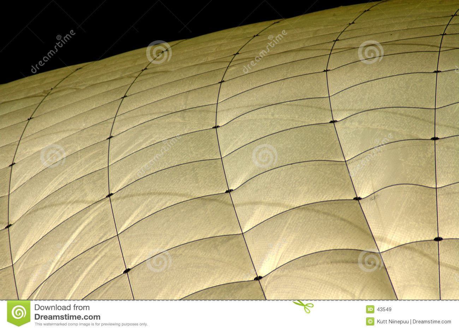 Tennis hall roof