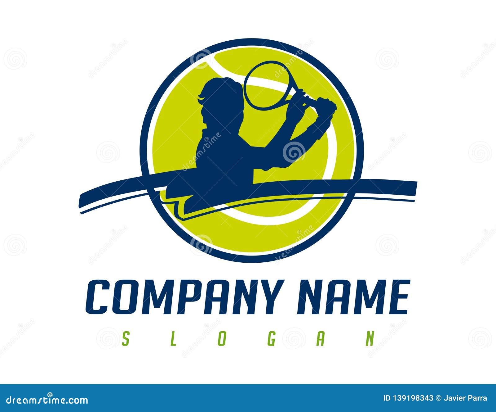 Tennis Logo Design Stock Illustration Illustration Of Competition 139198343