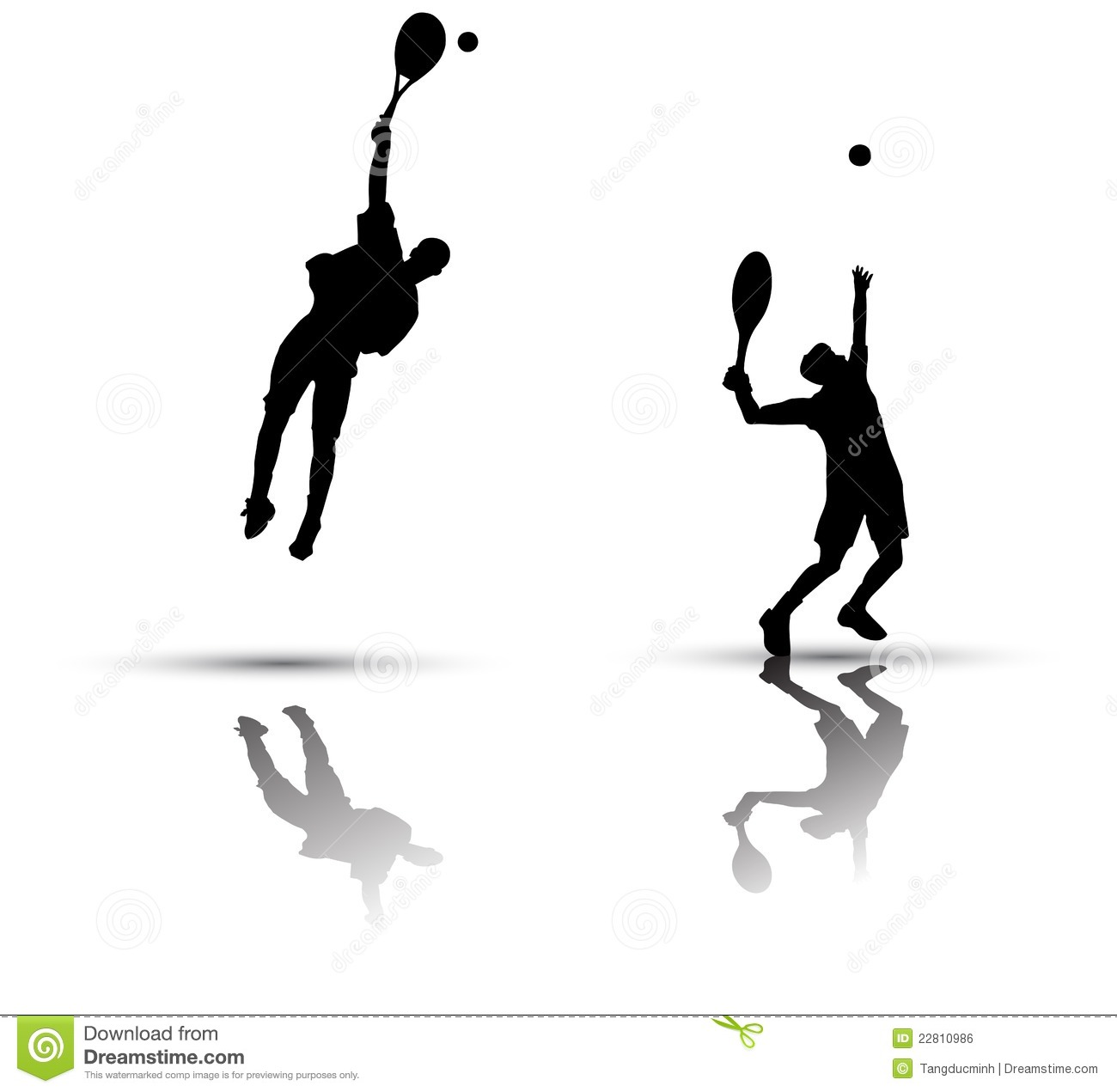 Tennis Player Silhouette Royalty Free Stock Image - Image ... Badminton Player Png