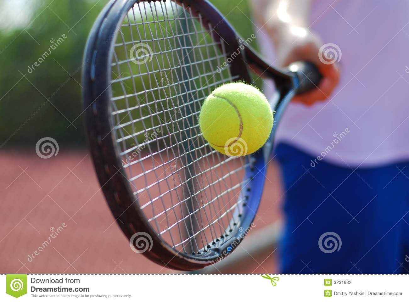 Download Tennis racket and ball stock photo. Image of tennis, outdoor - 3231632