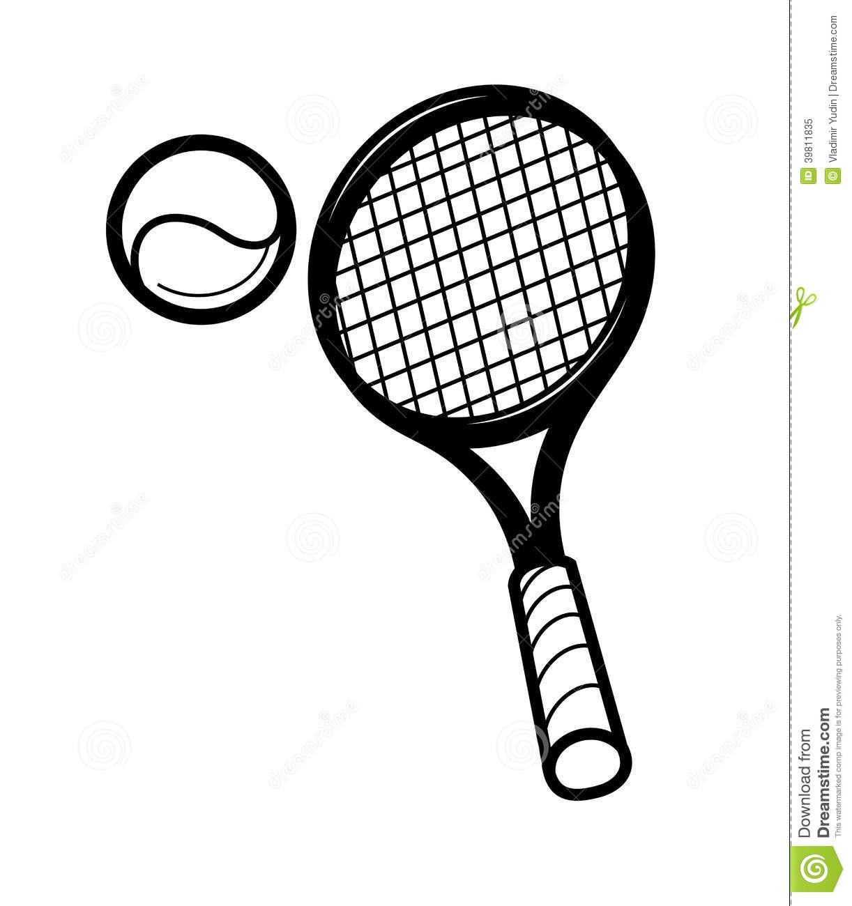 tennis racket and ballon stock vector image of clip tennis racquet clipart tennis racket clipart