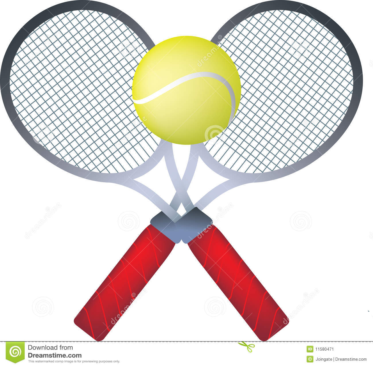 Tennis Rackets Stock Image - Image: 11580471