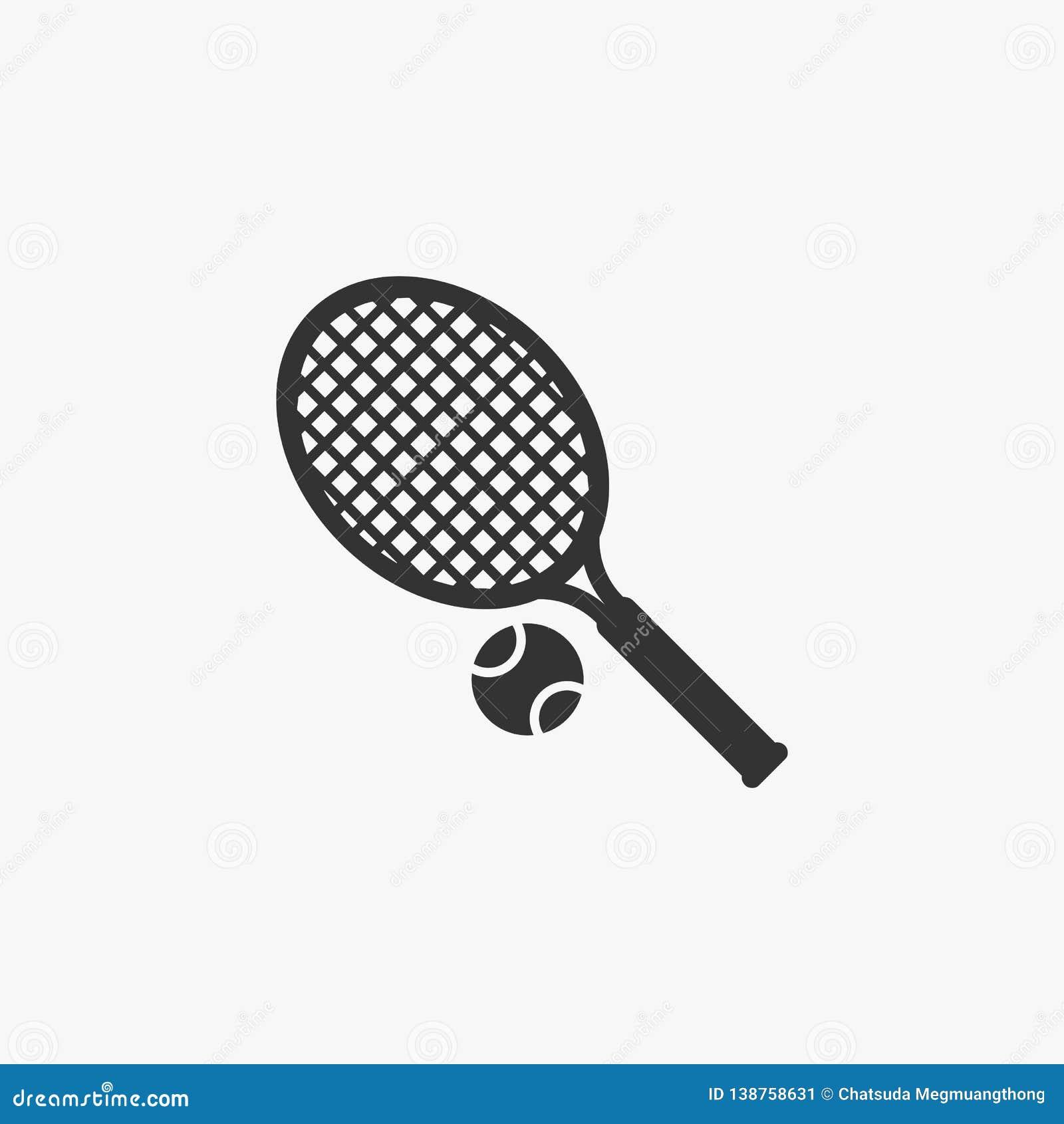 Tennissymbol, sport, lek, gräsmattatennis
