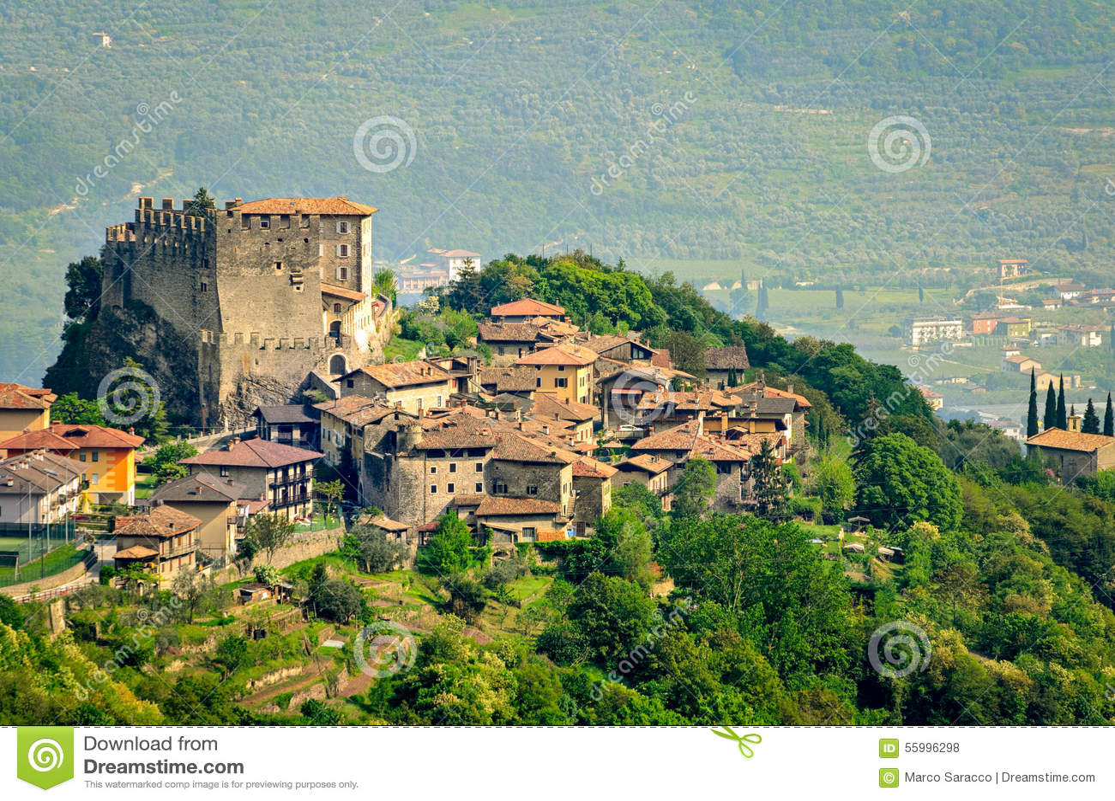 Tenno trentino alto adige italy stock photo image of for Mobilificio trentino alto adige