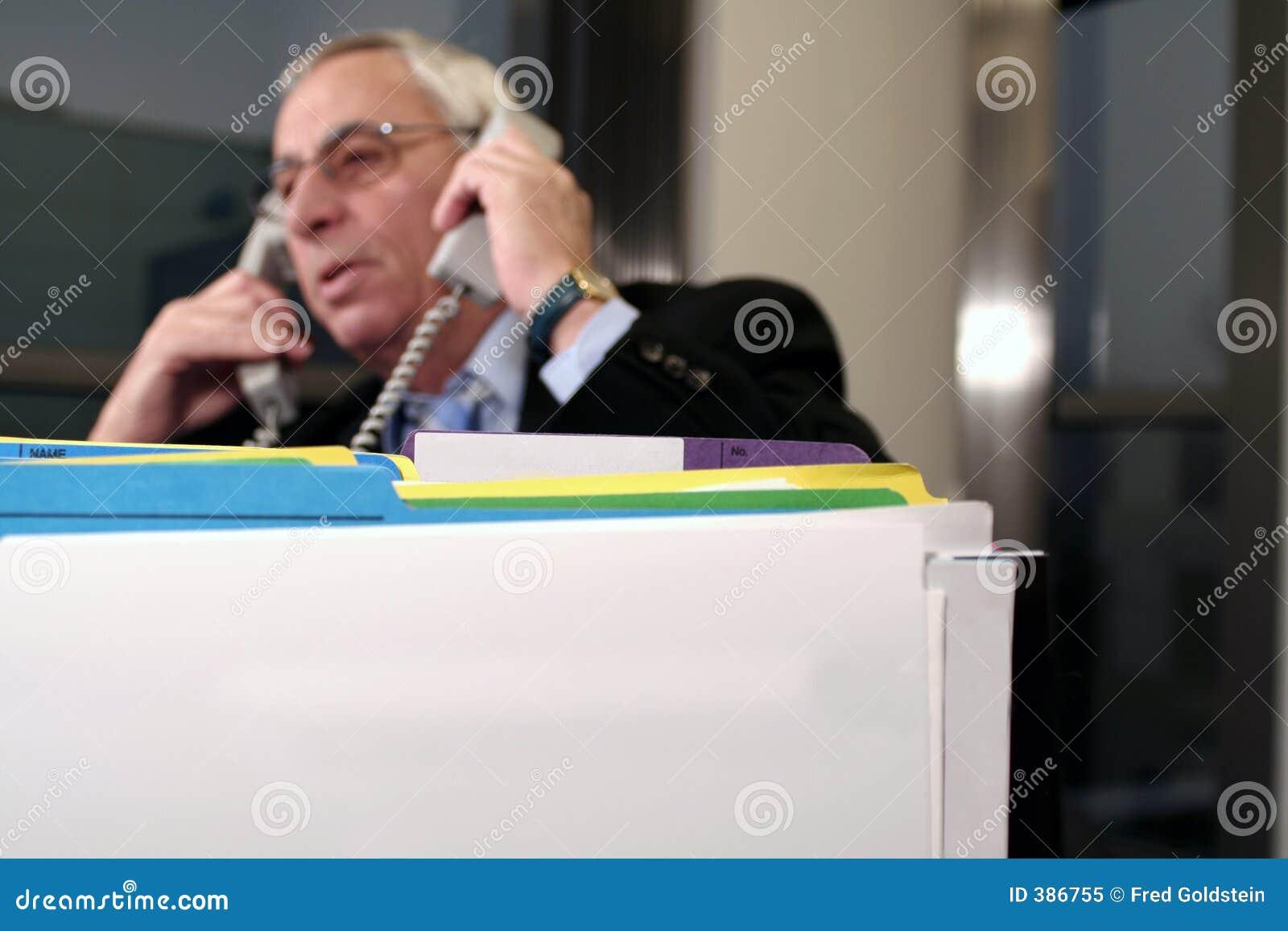 Tension au téléphone