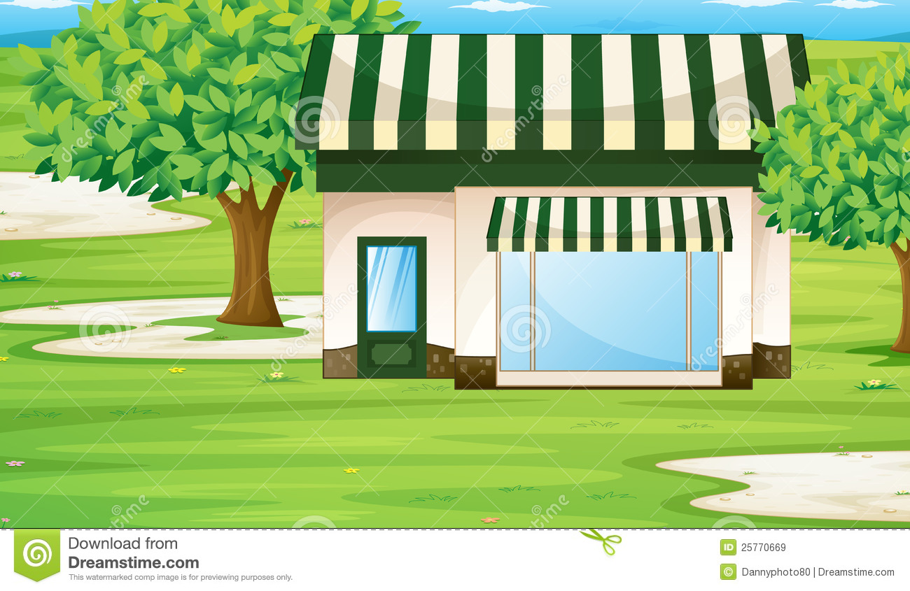 A Tent House Royalty Free Stock Images Image 25770669