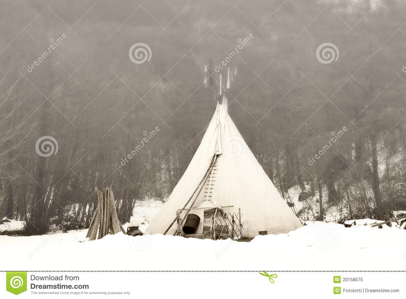 Tent of the Indian