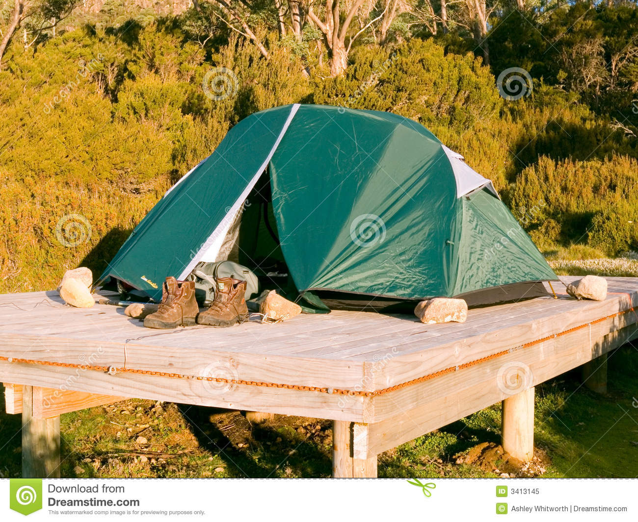 Uncategorized Tent Platform Plans tent platform stock image of walk impact wooden 3413145 platform