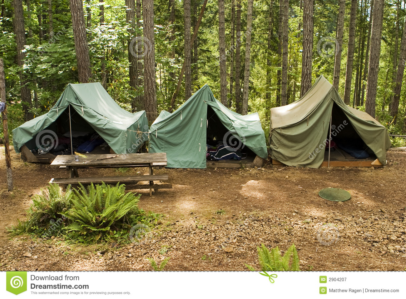 tents at boy scout camp stock image image of parsons 2904207. Black Bedroom Furniture Sets. Home Design Ideas