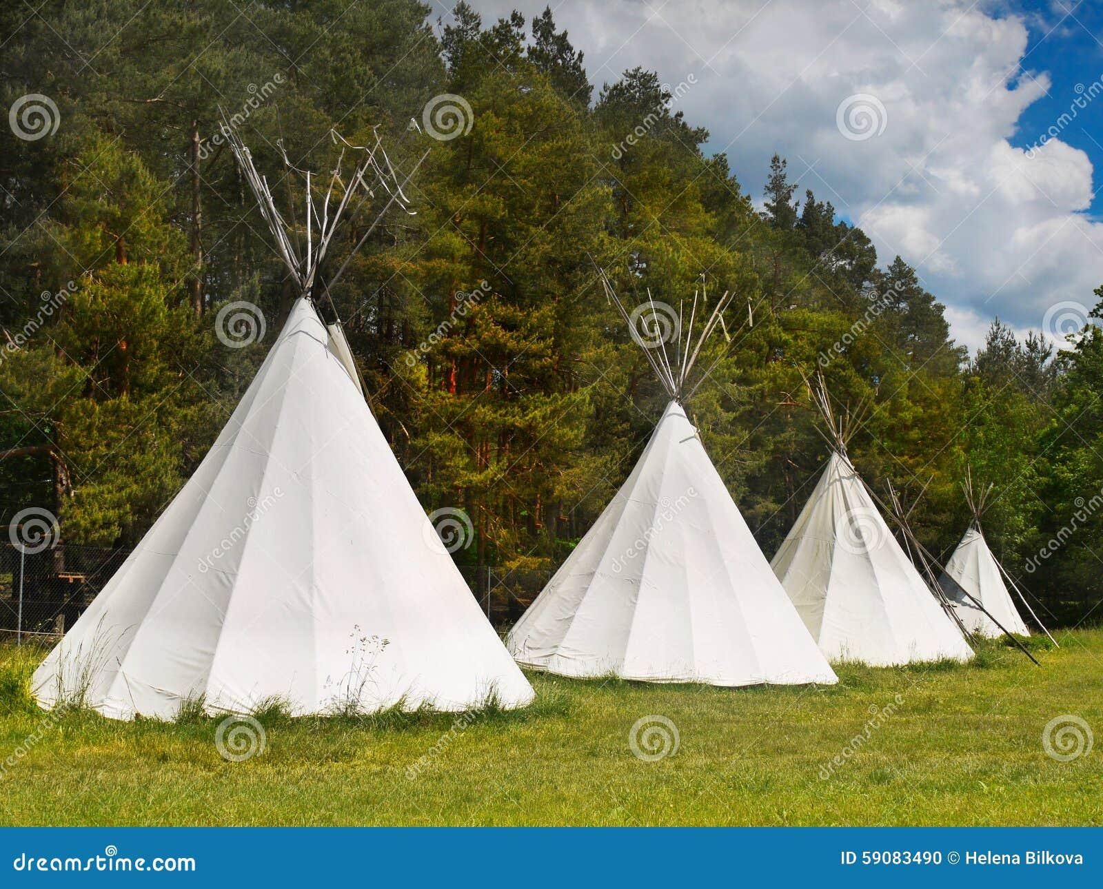 Tents at Campsite