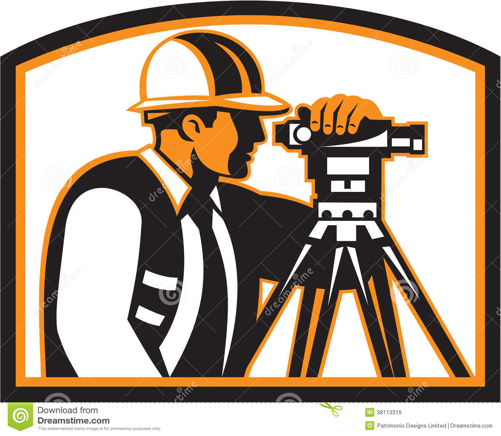 Teodolite di Geodetic Engineer Survey dell ispettore