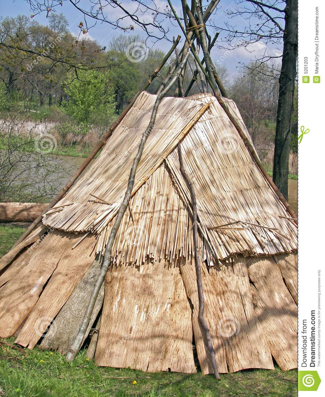tepee indien photos stock image 5201203. Black Bedroom Furniture Sets. Home Design Ideas