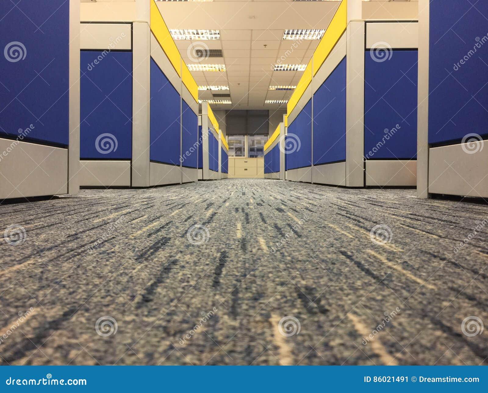 Teppichboden Im Buro Wahlt Fokus Auf Dem Boden Vor Stockbild Bild