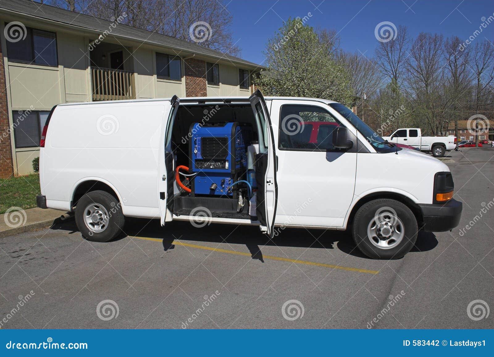 Teppichreinigungspackwagen 1