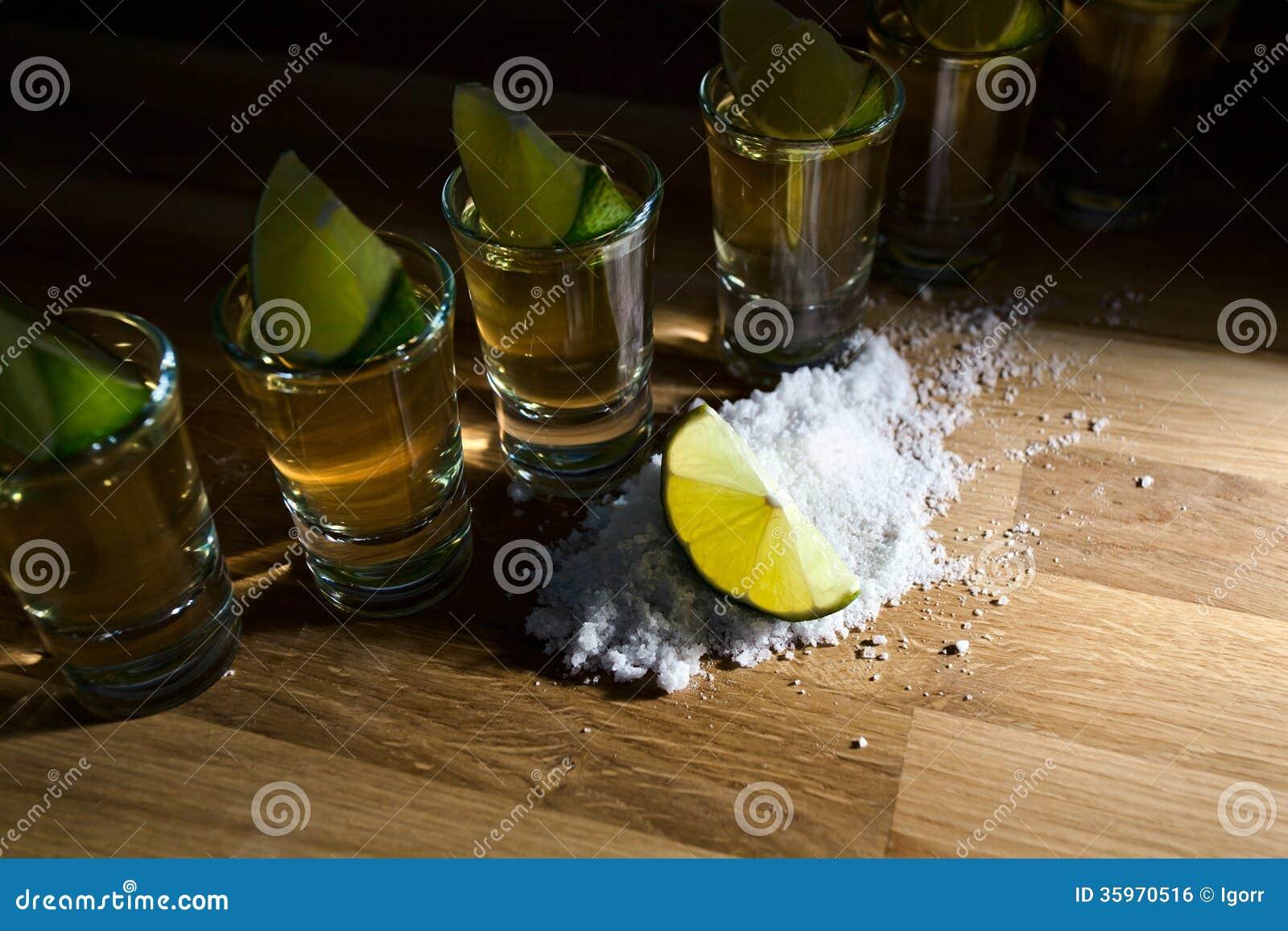 Tequila, cal y sal