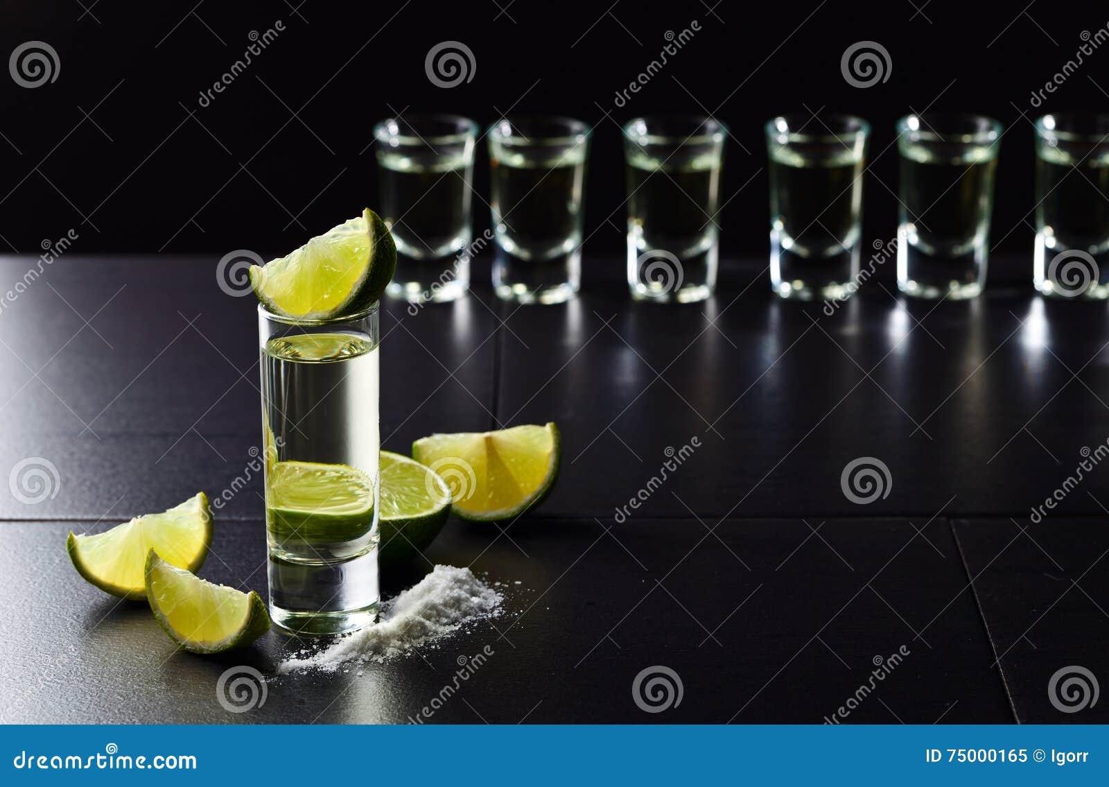 Tequila, kalk en zout