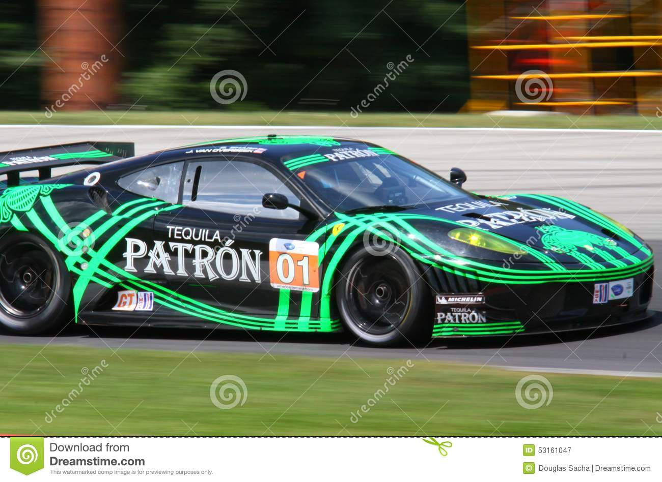 tequila patron race team editorial photography