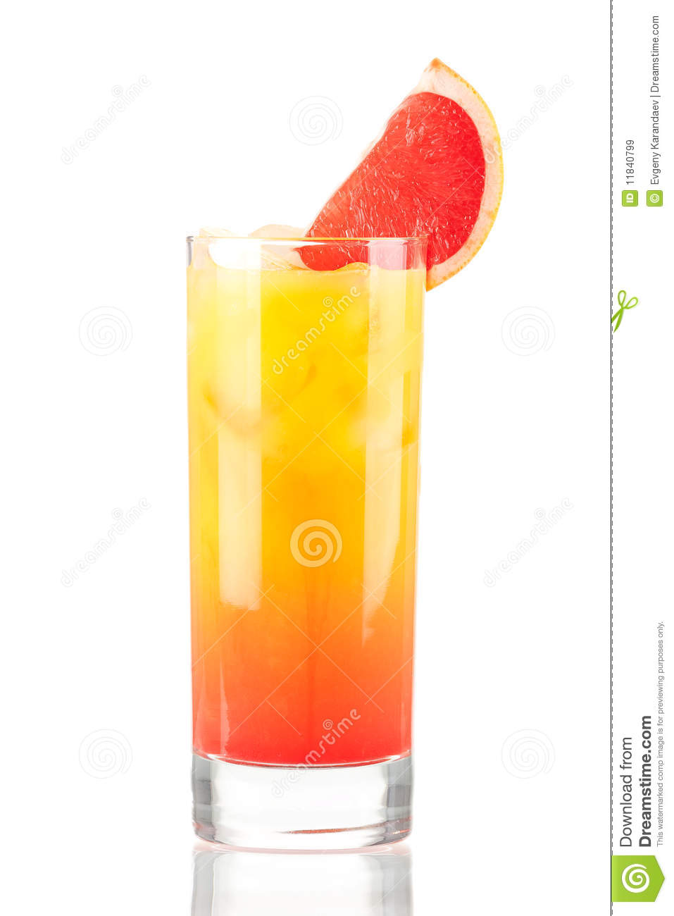 Tequila sunrise alcohol cocktail royalty free stock images for Cocktail de fruit