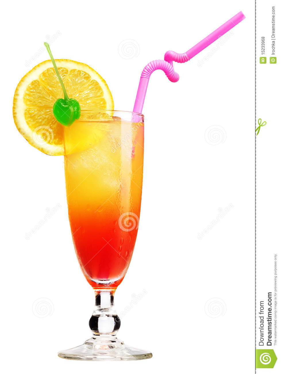 Tequila sunrise cocktail royalty free stock photos image for Best tequila for tequila sunrise