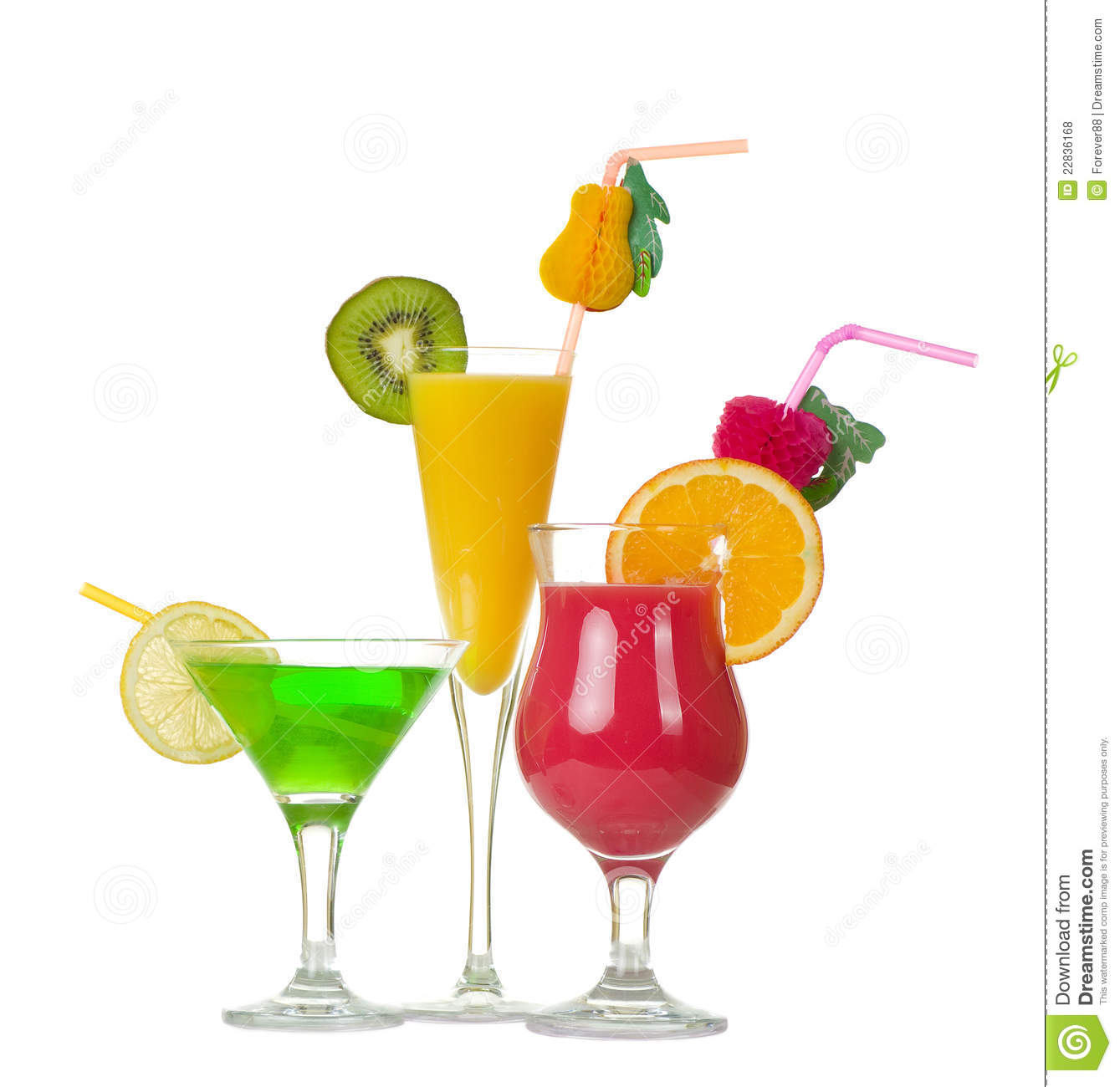 Tequila Sunrise Cocktail Royalty Free Stock Photos - Image: 22836168