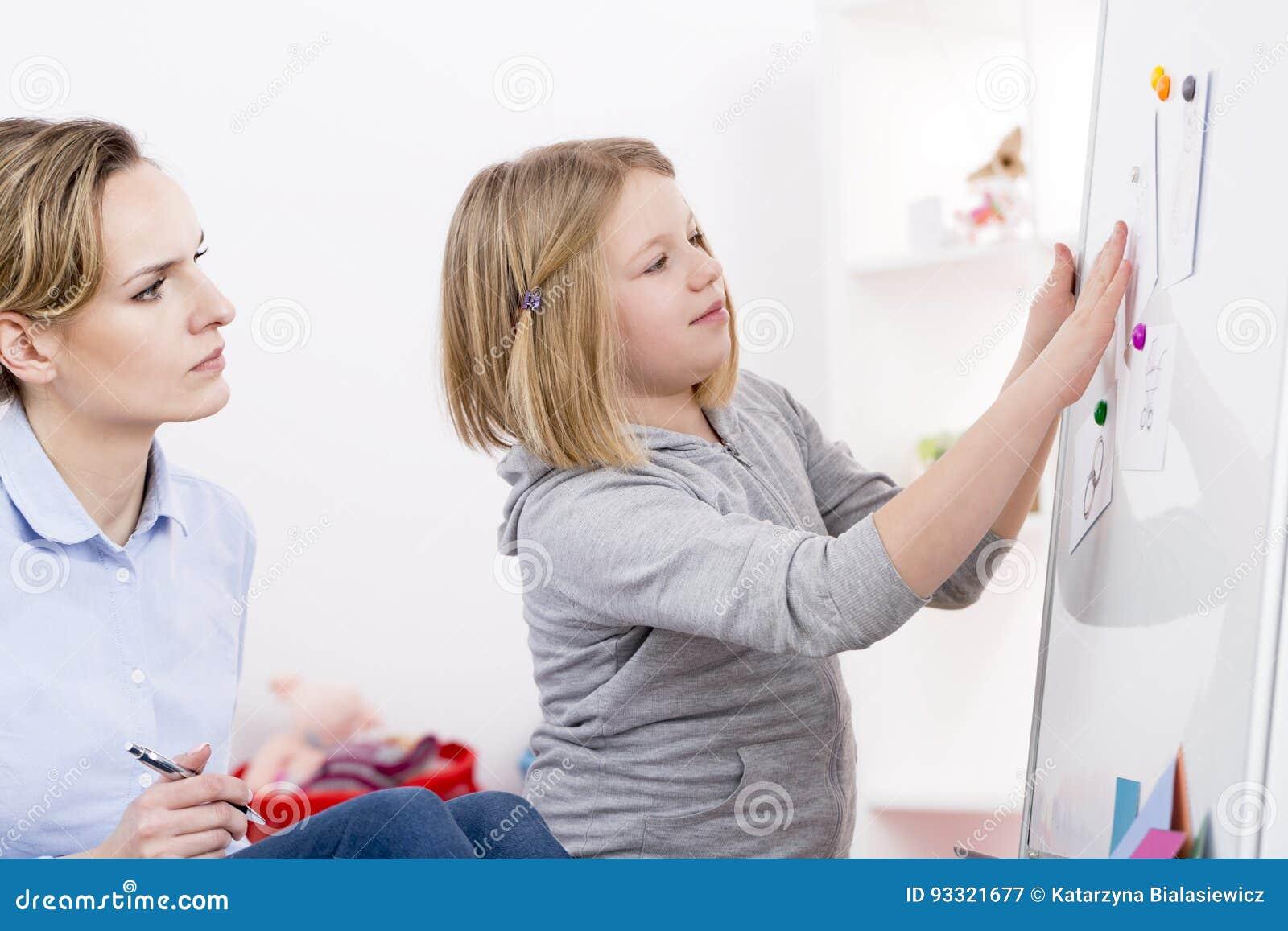 Terapia del gioco per disordine di autismo