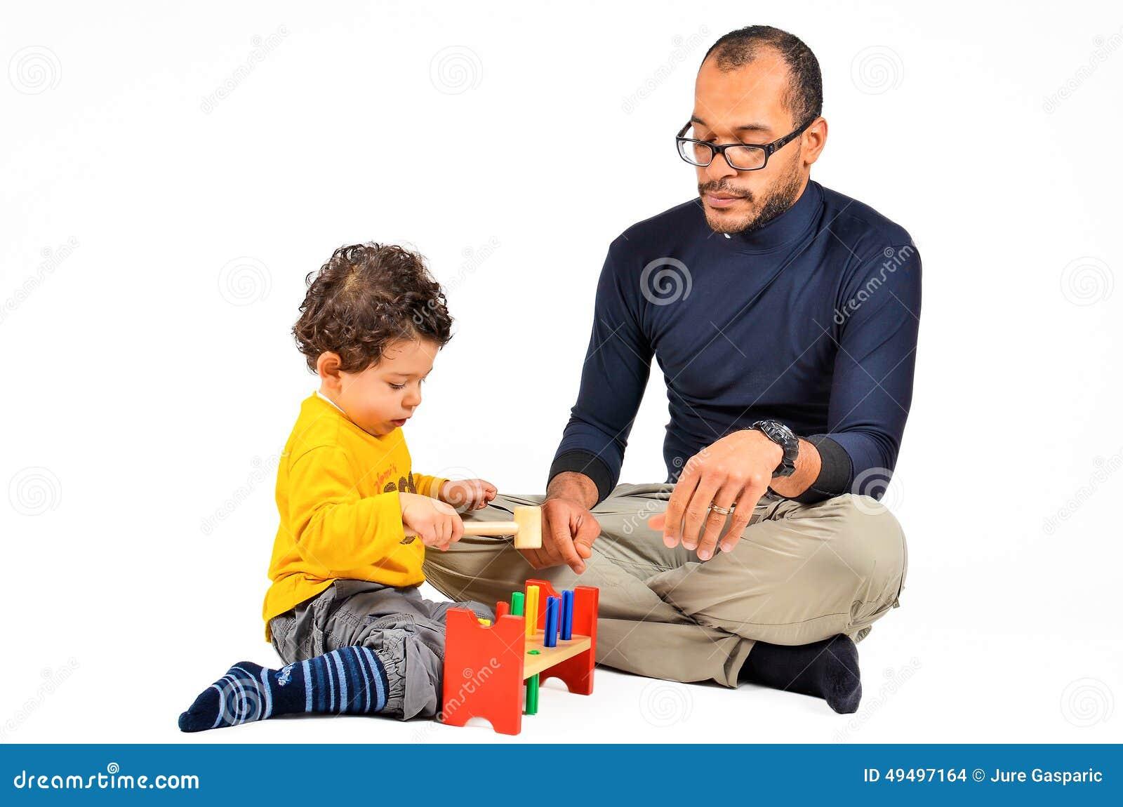 Terapia didáctica de los niños para el autismo