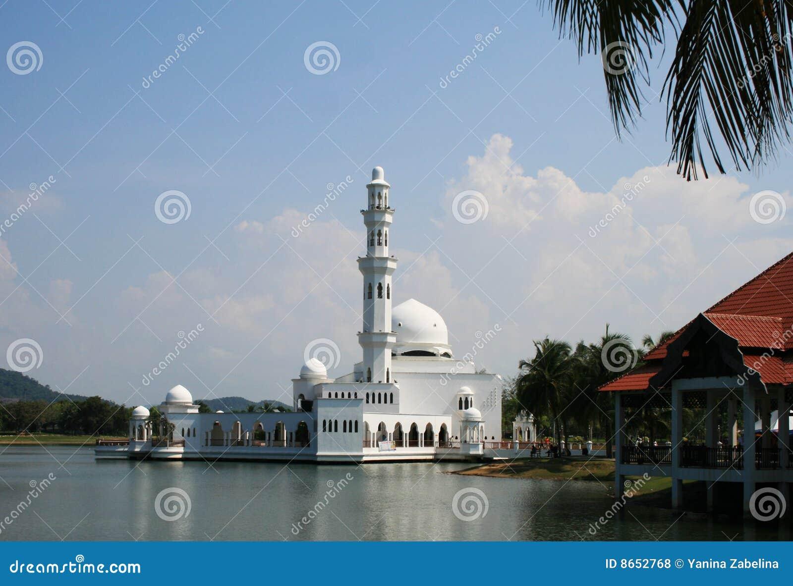 Terapung de flottement de mosquée de masjid