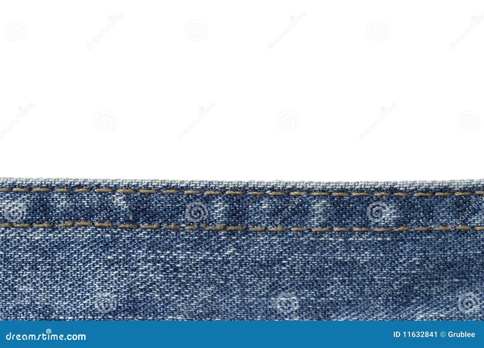 Tercer inferior de los pantalones vaqueros