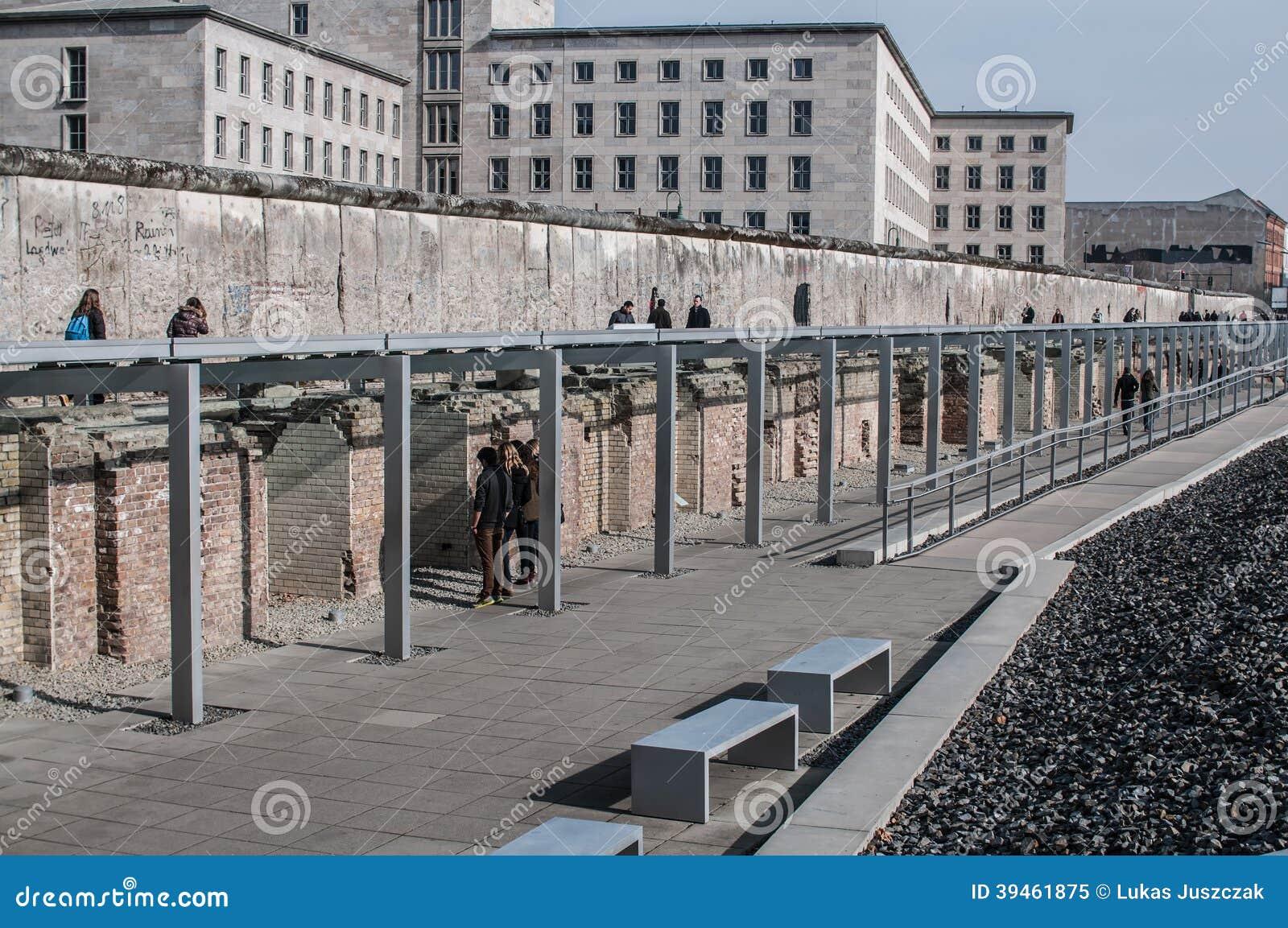 Terenoznawstwo terroru muzeum, Berlin, Niemcy