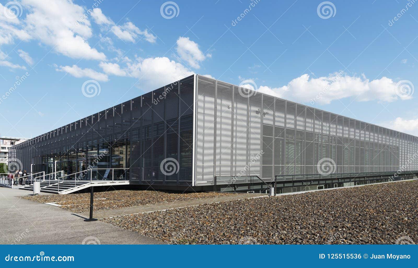 Terenoznawstwo terroru muzeum w Berlin, Niemcy