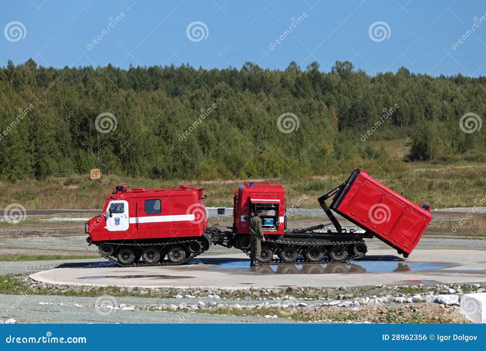 Terenu pożarniczy pojazd