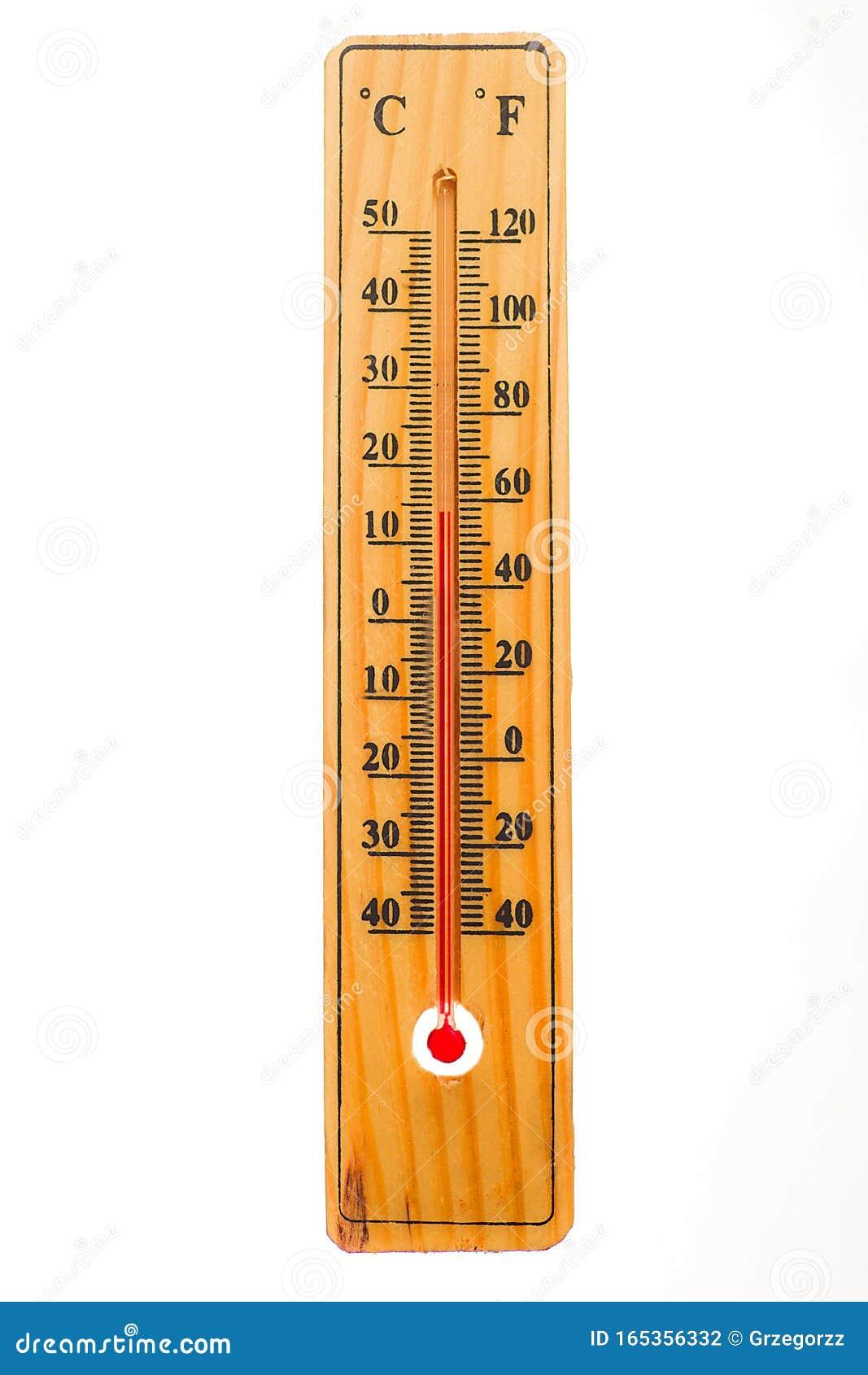 Termometro De Madera Aislado Sobre Fondo Blanco El Termometro Muestra La Temperatura Del Aire Mas 14 Grados Celsius O Mas 58 Grad Foto De Archivo Imagen De Temperatura Muestra 165356332 F = 9/5*c + 32 to find the temperature both scales are equal we can use. madera aislado sobre fondo blanco
