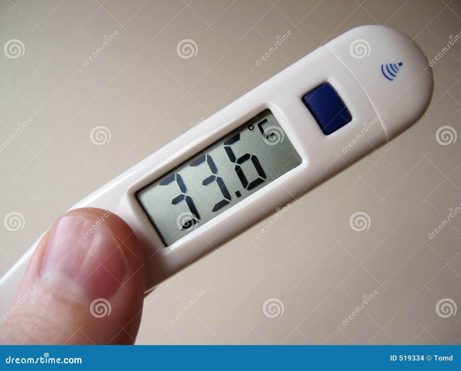 Termômetro de Digitas