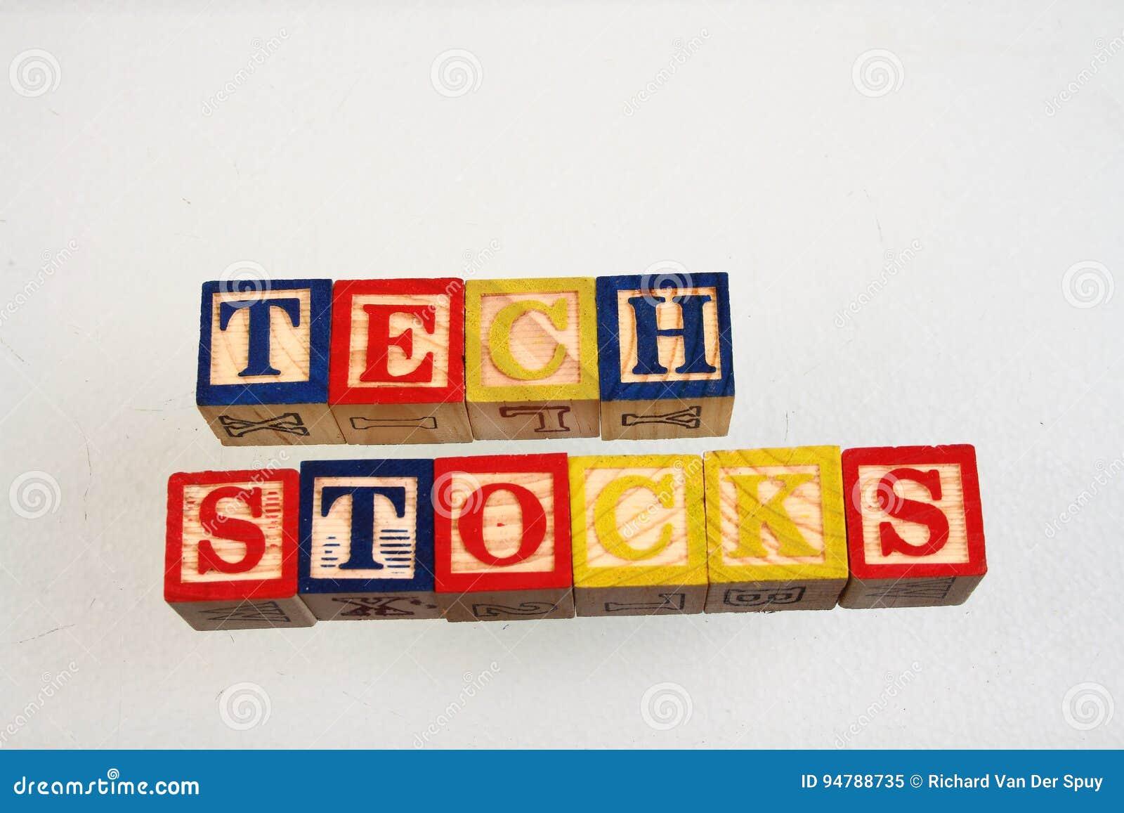 The term tech stocks