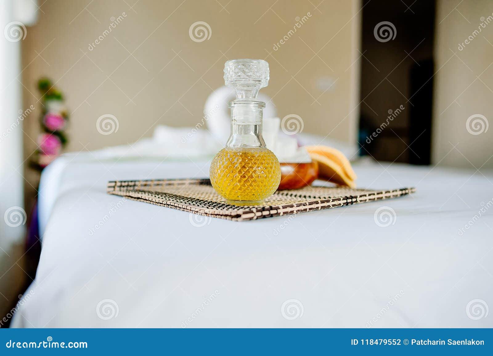 Termas e cuidados médicos com flores e toalhas Produtos naturais a