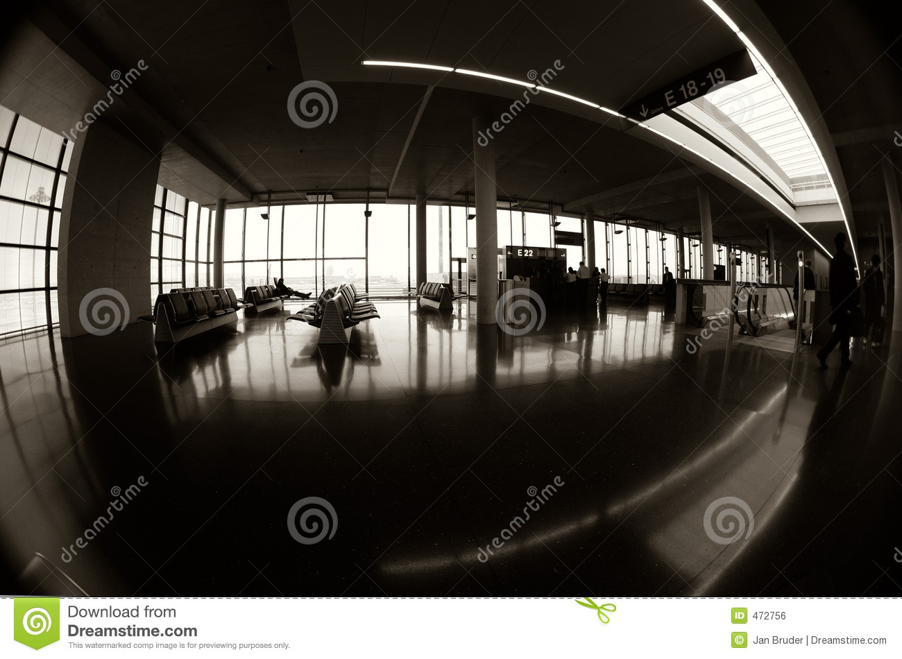 Download Terminal 1 stock photo. Image of travel, distorted, class - 472756