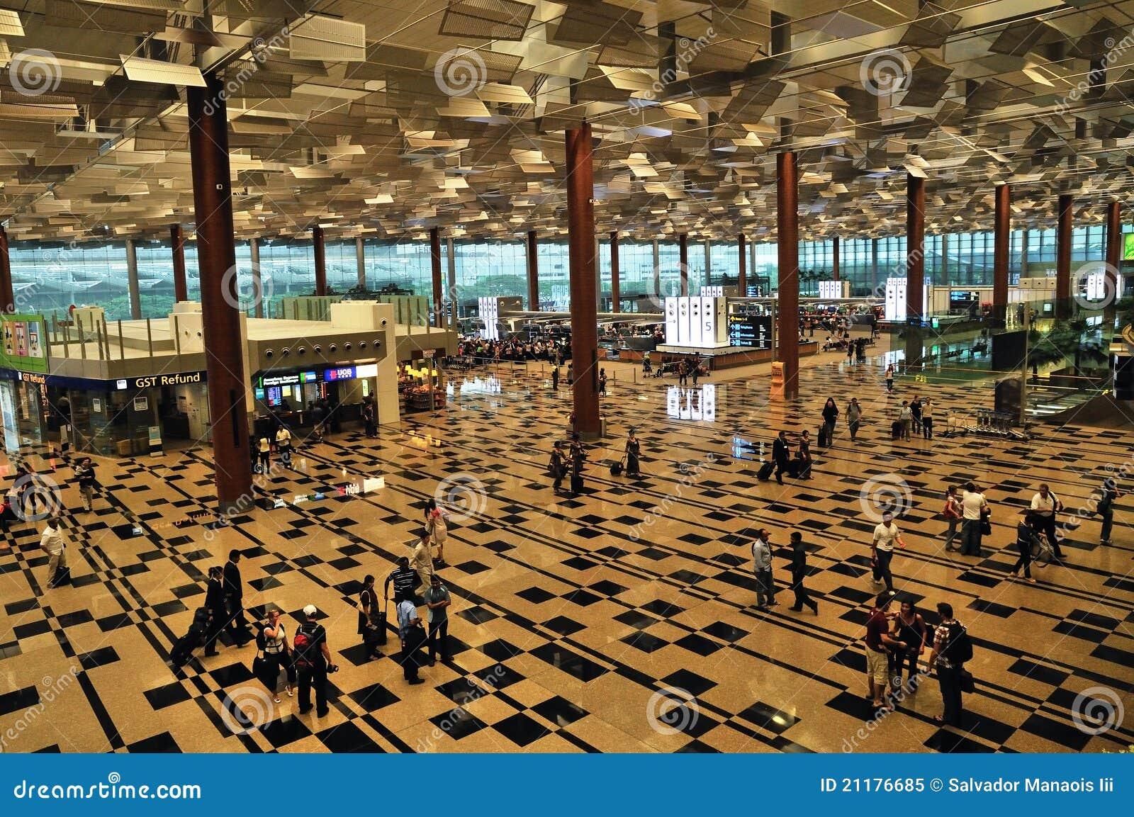 Международный аэропорт Чанги в Сингапуре
