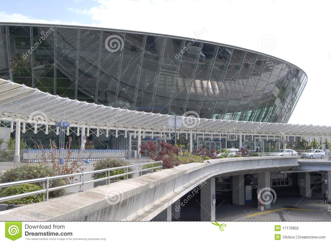Terminal Building At Nice Airport. Stock Photography ...