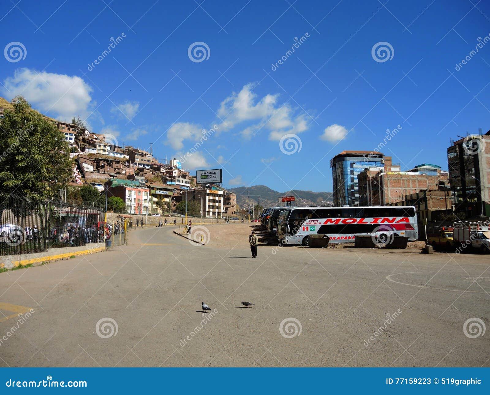 Terminal dans Puno, Pérou