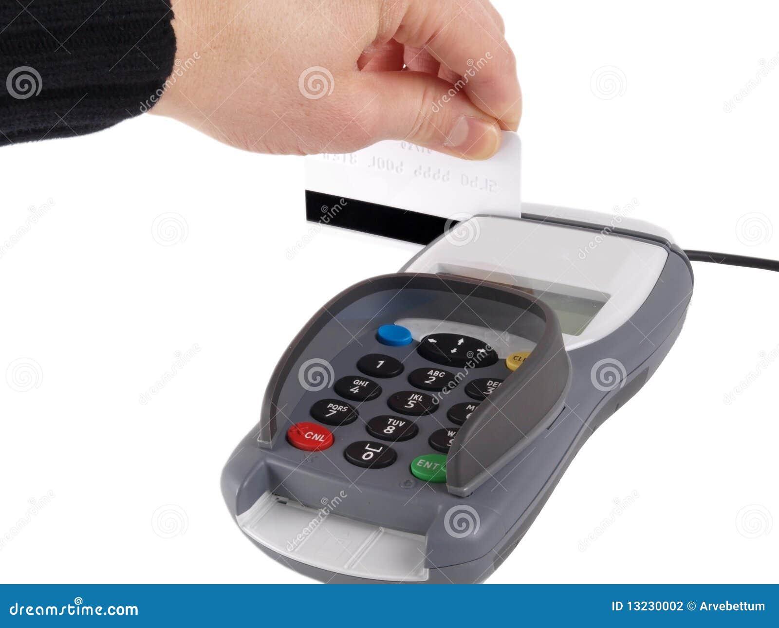 Terminal do pagamento