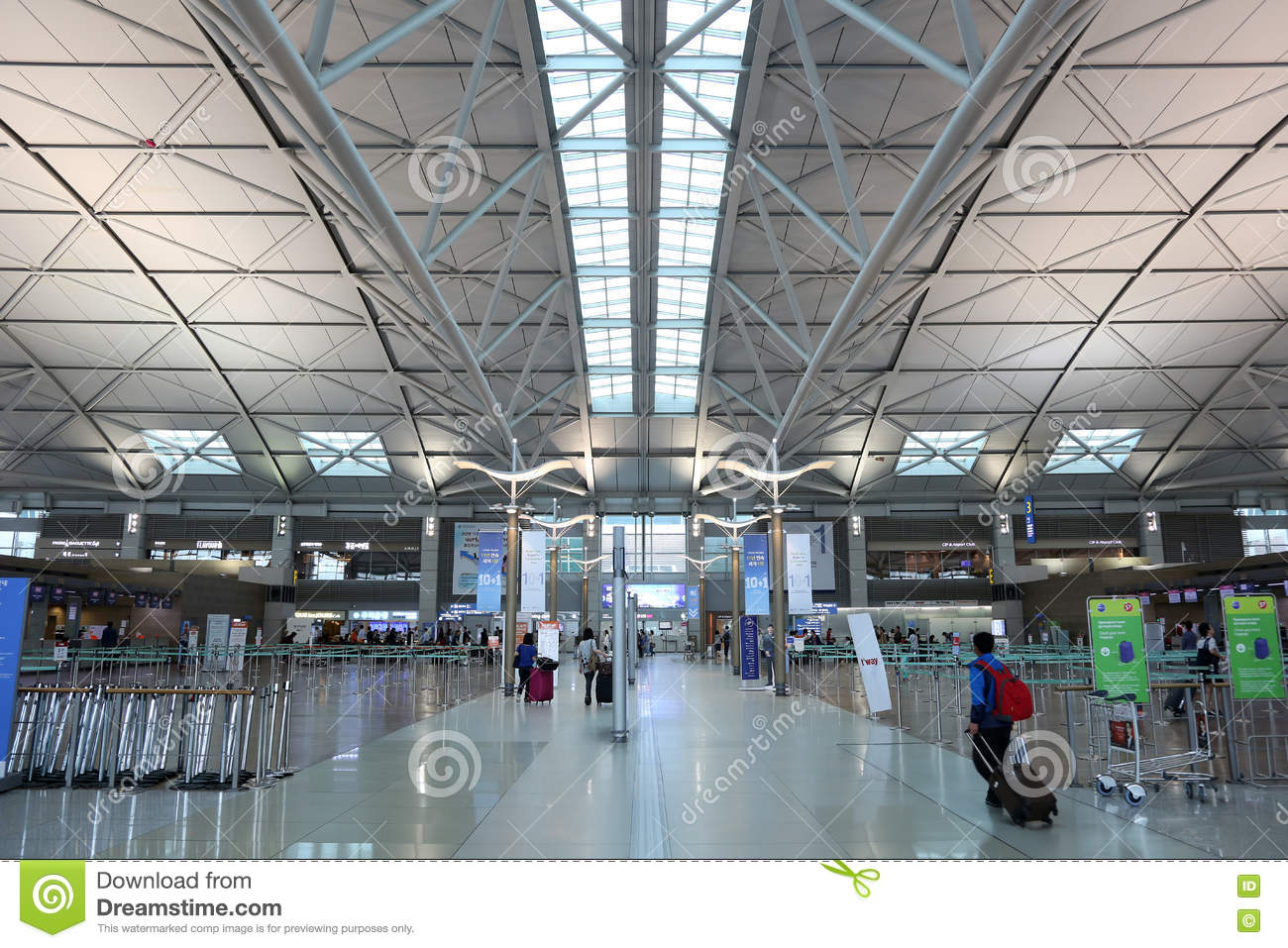 Terminal Seoul Incheon International Airport Editorial Image - Image ...