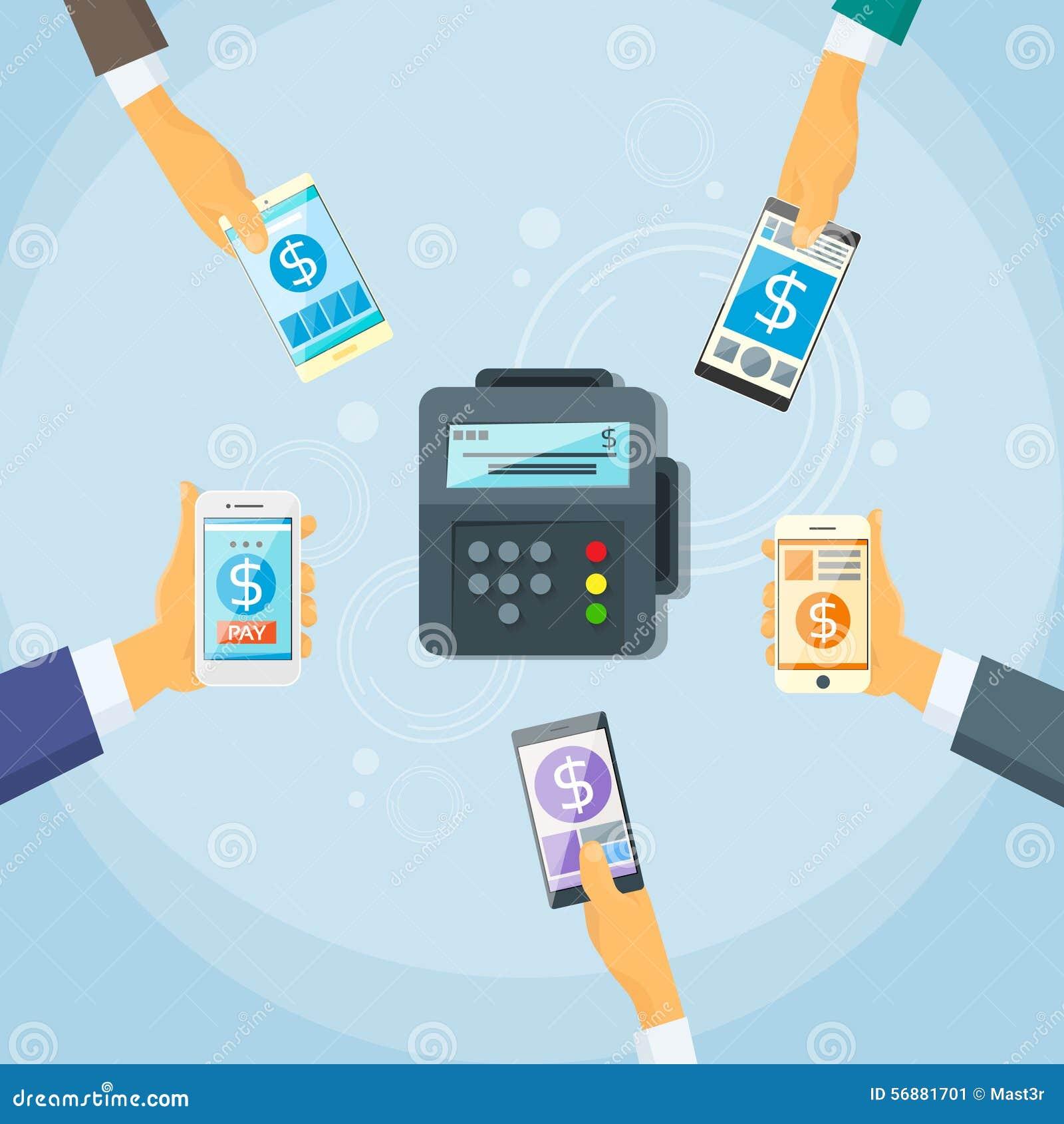 Terminale mobile di Nfc del dispositivo di pagamento dello Smart Phone