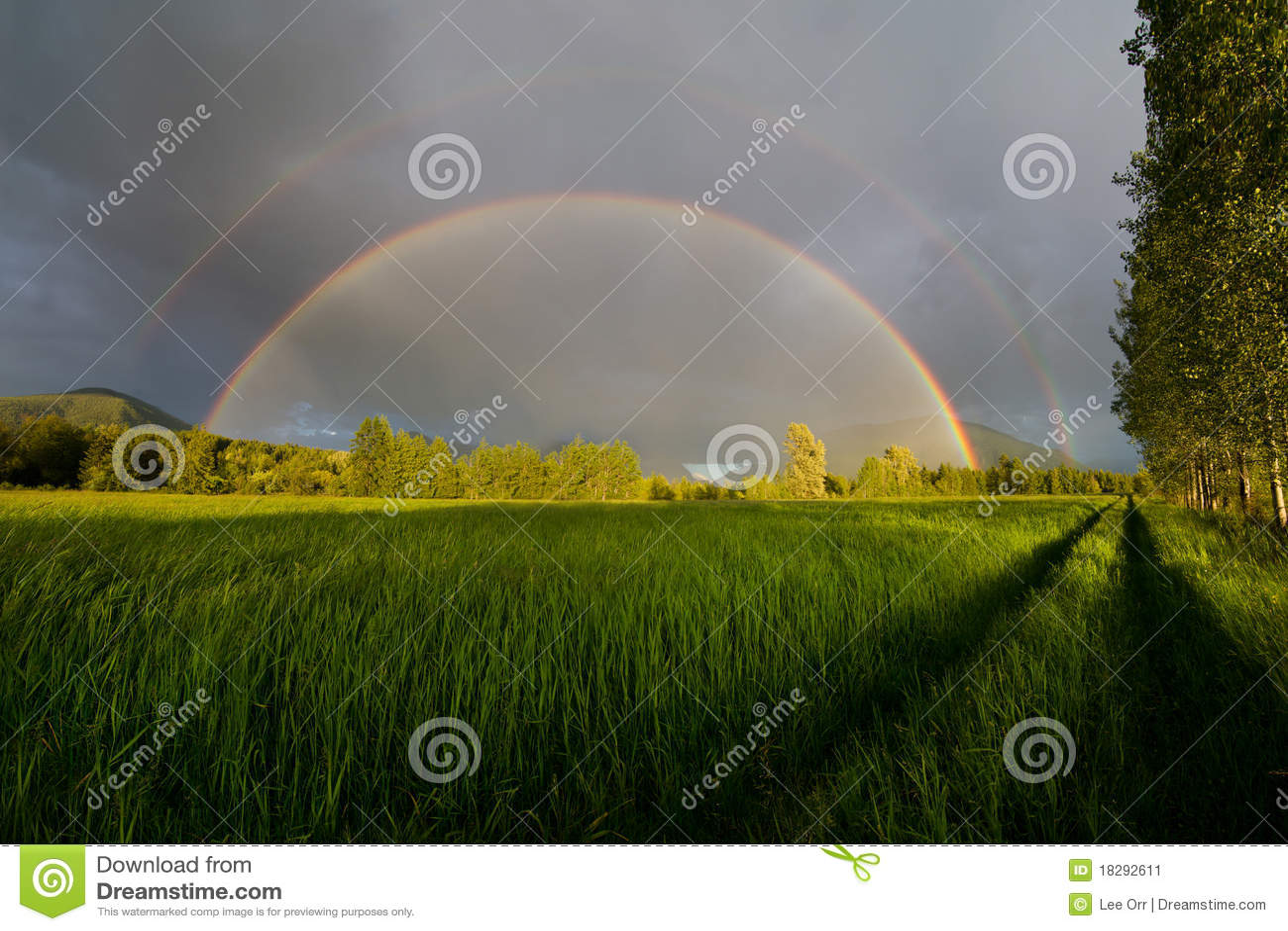 Termine o arco-íris dobro