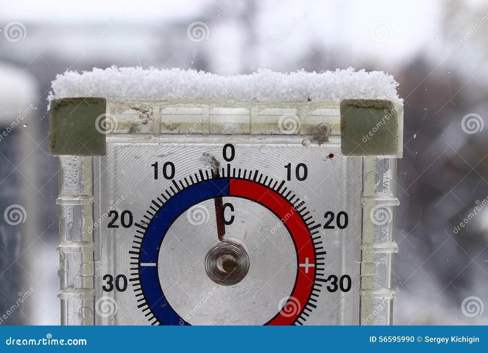 Bildresultat för termometer utomhus i snö
