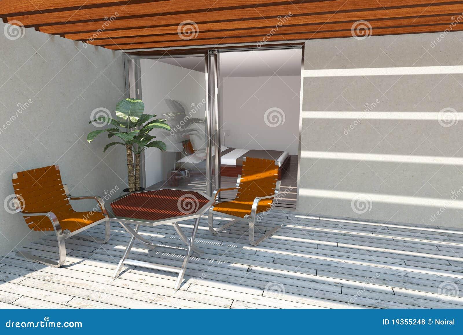 Terraço home moderno