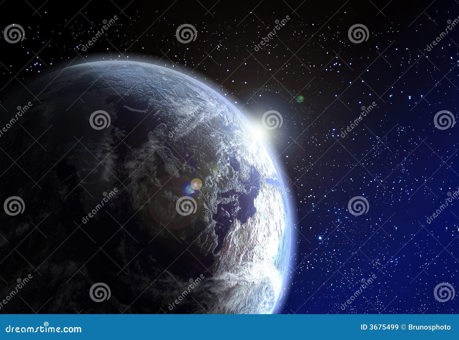 Download Terra immagine stock. Immagine di pianeta, progresso, lucidare - 3675499