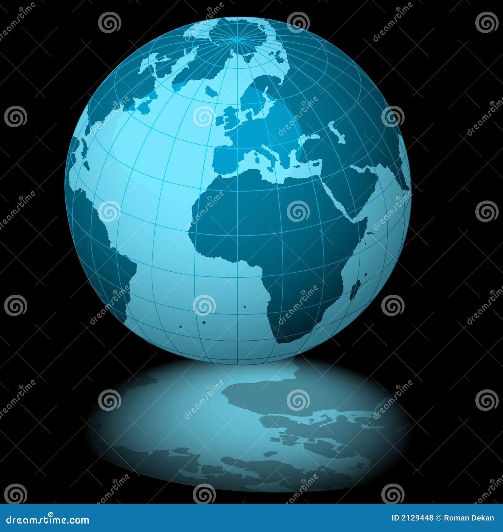 Terra azul